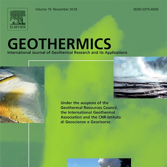 GEOTHERMICS Journal available for all IGA Members for a